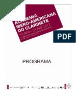 AIAC 2012 - Programa Geral