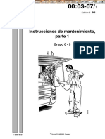 Manual Scania Instrucciones de Mantenimiento