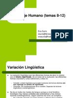 Lenguaje Humano T8-12