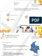 Presentacion CERTECNICA PDF PDF