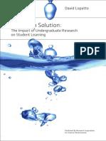 Science in Solution Lopatto
