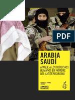 Arabia Saudí Ataque a Los Derechos Humanos en Nombre Del Antiter