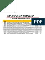 Relación de Núcleos Por Fabricar Al 01 de Agosto 2016