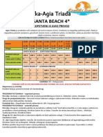 Santa Beach Kt 20182d