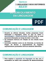 Aula 02 - Desenvolvimento Da Comunicação e Linguagem