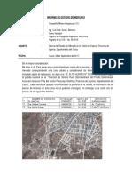 INFORME Estudio de Mercado Terrenos