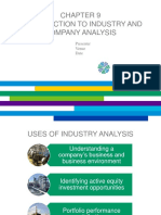 CFA - Industry Analysis