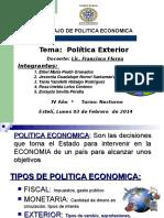 1. Exposición de Política Exterior 03022014