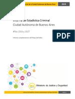Informe de Estadística Criminal Informe de Estadística Criminal