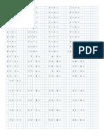 CLASE Multiplicación División