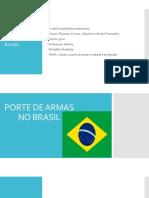 Porte de Armas No Brasil