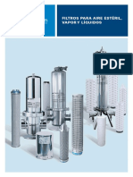 Brochure Filtros Para Aire Estéril Vapor y Liquidos - Copy