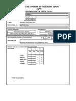 Formato Disponibilidad Docente 2018-2