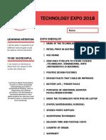 technology criteria sheet