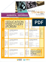 education discovery flyer