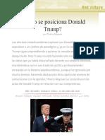 ¿Cómo se posiciona Donald Trump?, por Thierry Meyssan