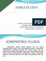 Mekanika Fluida Kinematika fluida