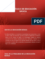 Currículo de Educación Básica