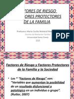 1 Factores de Riesgo y Factores Protectores de La Familia 2018