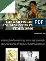 Mariana Flores Melo - Las 5 Artistas Más Influyentes Para El Feminismo