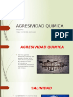 AGRESIVIDAD QUIMICA.
