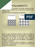 6.- ESPONJAMIENTO. laboratorio de suelos