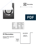 Electrolux Gas Dryer EFMG617STT0 and EFMG617SIW0 Factory Parts Catalog