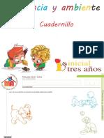 Cuadernillo Ciencia y Ambiente 1 Completo 3 Años