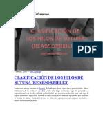 clasificación  de hilos.docx