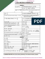 1032 12 Physics Em Formulas