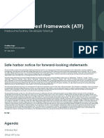 ServiceNow Automation Test Framework