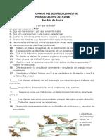Cuestionario Del Segundo Quimestre Examenes Finales