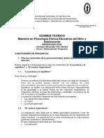 EXAMEN TEORICO – MAESTRIA DESARROLLO DEL NIÑO Y DEL ADOLECENTE – CURSO ESTIMULACIÓN TEMPRANA (1)