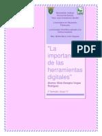 ensayo la importancia de las herramientas digitales