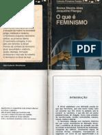 O Que é Feminismo - Branca Moreira Alves e Jacqueline Pitanguy.pdf