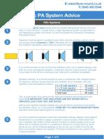 Basic 100v System Wiring Guide