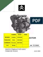 Motor EW12J4 PV7404984