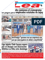 Periódico Lea Viernes 29 de Junio Del 2018