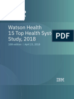 15 Top Health Systems Study