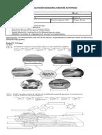 Evaluación Semestral Ciencias Naturales 5to Pie