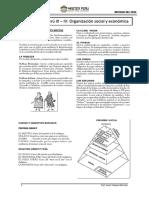 El Virreinato III-IV Organización Social y Económica