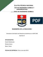 Trabajo Reacción I. Matlab. Maldonado, D. Quilca, W. Yánez, M.docx