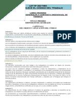 Ley Nº 203-1993 - Que Establece El Código Del Trabajo