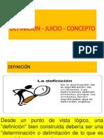 4 Definicion Juicios y Conceptos
