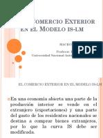 4. El Comercio Exterior en El Módelo is-LM