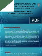 12. Economia de Aglomeracion