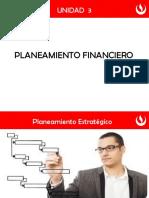 Unidad 3 - Planeamiento Financiero - Semana 9