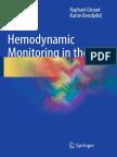 Hemodynamic monitoring in ICU