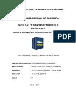 Informe Practicas  contabilidad
