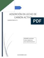Informe de Adsorcion y Procesos